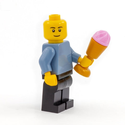 LEGO Ice Cream Scoop in a Golden Cup (Various Flavours) - Minifigure Accessory