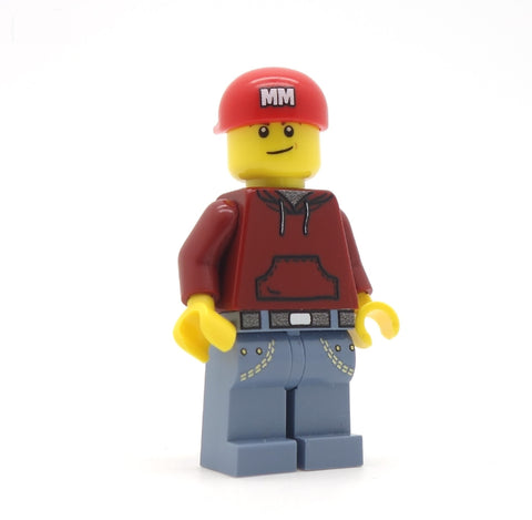 Personalised LEGO Baseball Cap (Various Colours) - Minifigure Hat