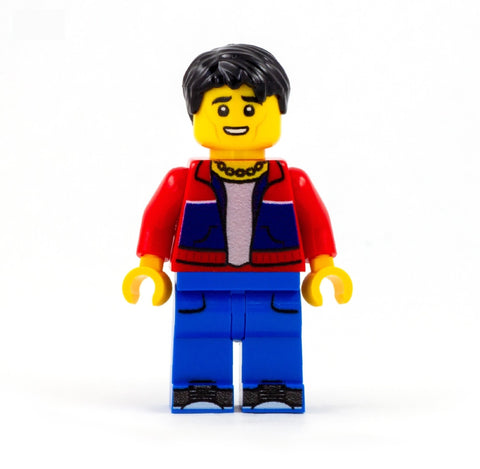 jason, the good place - custom LEGO minifigure