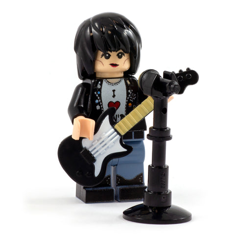 LEGO Joan Jett - Custom Design minifigure, Queen of Rock and Roll