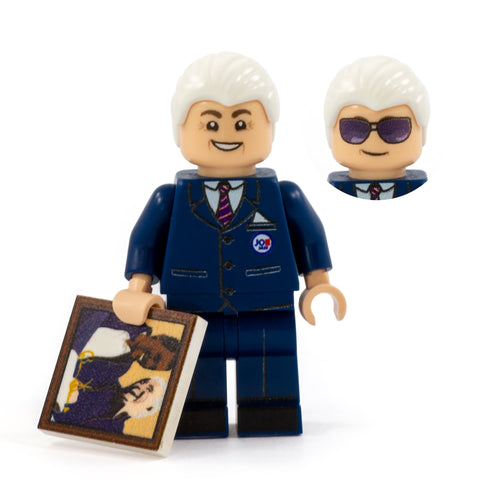 LEGO Joe Biden - Custom Design Minifigure