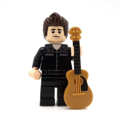 The Man in Black - Custom LEGO Minifigure
