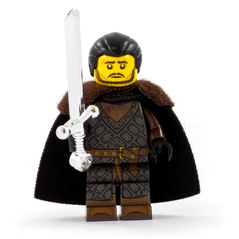 King in the North - Custom Design LEGO Minifigure