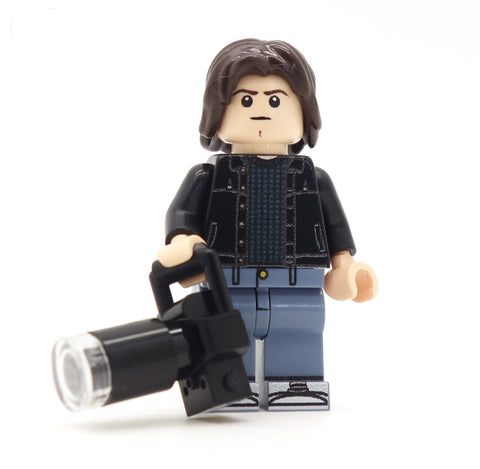 stranger things jonathan, custom lego minifigure