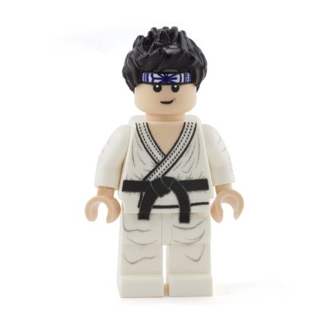 Daniel LaRusso, Karate Kid, Cobra Kai - Custom Design Minifigure