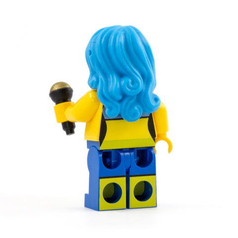 LEGO Katy Perry - Custom Design Minifigure