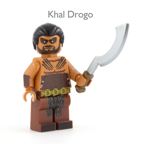 LEGO Game of thrones, Khal Drogo Minifigure