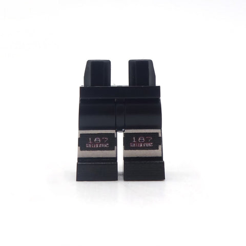 Minifigure Legs with Knee Pads - Custom Printed Minifigure Legs