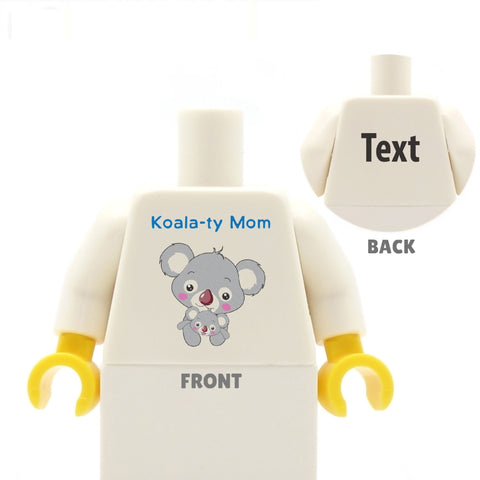 Koalaty Mom - Custom LEGO Torso