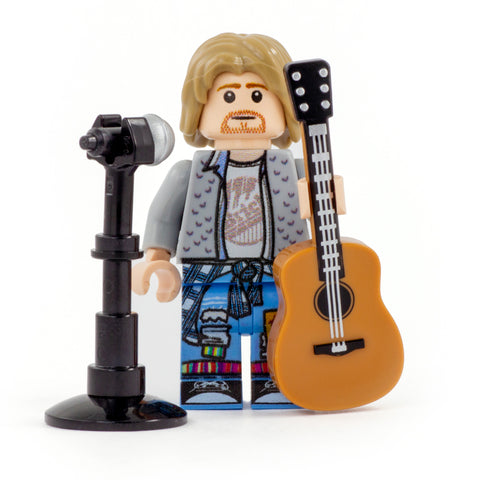 Grunge Icon - Custom Design Minifigure