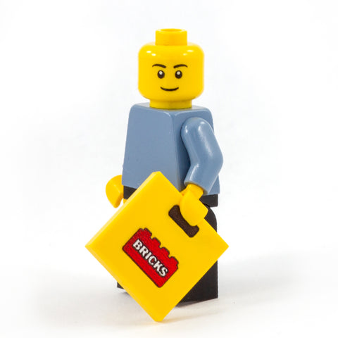 Brick Carrier Bag - Custom Design Tile (LEGO carrier bag)