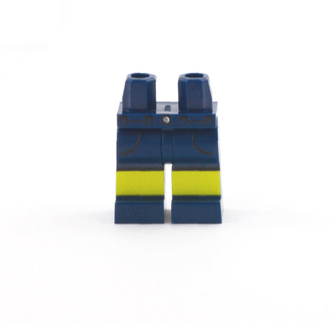 Navy Shorts with Pockets - Custom Printed Minifigure LEGO Legs