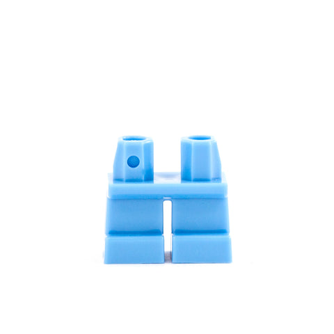 Short Light Blue Legs - LEGO Minifigure Legs