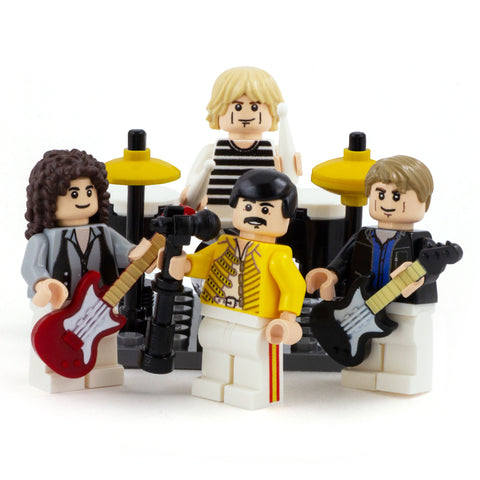 A Crazy Little thing Called LOVE - Custom Design Minifigure Set