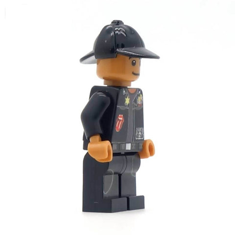 Red Dwarf's Lister, with hat (Cult Classic Space Comedy) - Custom LEGO Minifigure