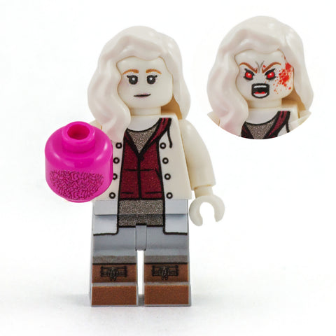 Liv the Zombie  - Custom Design Minifigure