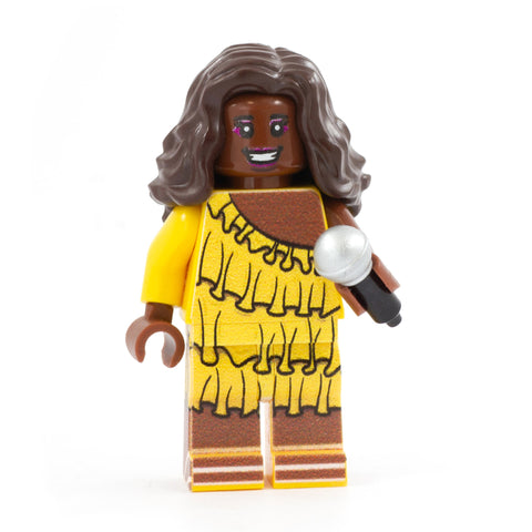 LEGO Lizzo, Body Positive Singer - Custom Design Minifigure