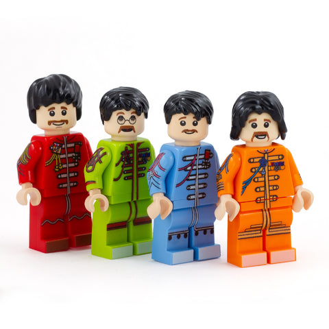 The Lonely Hearts! - Custom Design Minifigure Set