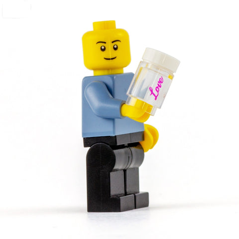 Island of Love Drink - Custom Printed LEGO Brick