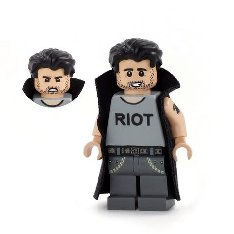 Mac (Never Raining in Brickadelphia) - Custom Design Minifigure