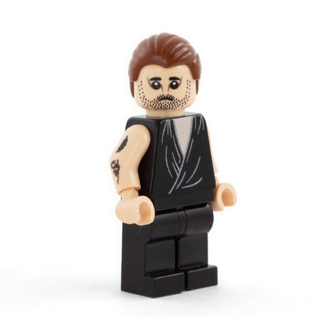 Mac, Nightman, The Nightman Cometh, Always Sunny in Philadelphia - Custom LEGO Minifigure Set