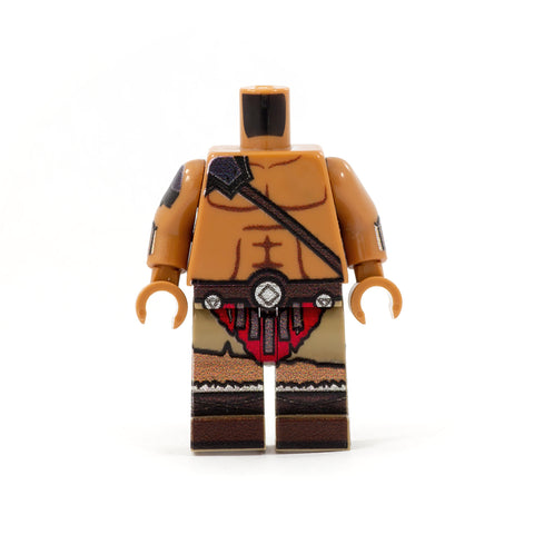 Lego Minifigure Barbarian DND, Dungeons And Dragons, RPG
