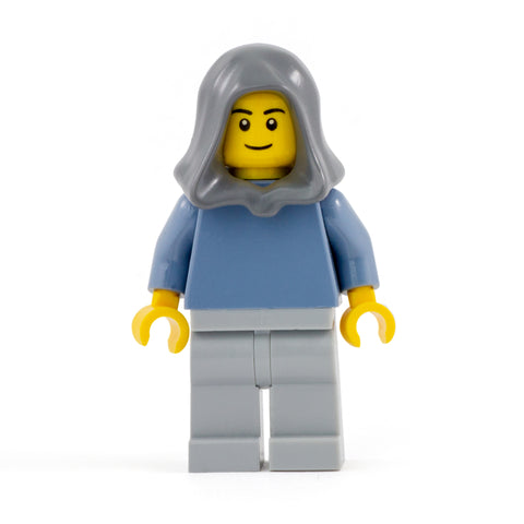 Hood / Headscarf (Various Colours - Dark Grey) - LEGO Headwear