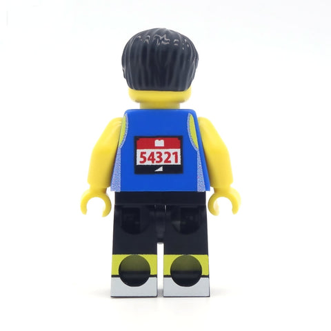 Personalised Marathon Runner - Custom Design Minifigure