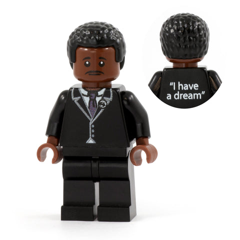 Martin Luther King - Custom LEGO Minifigure