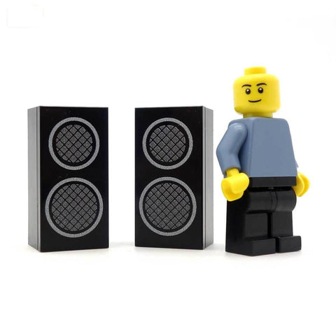 Massive Mini Speakers Custom Designed LEGO Pieces