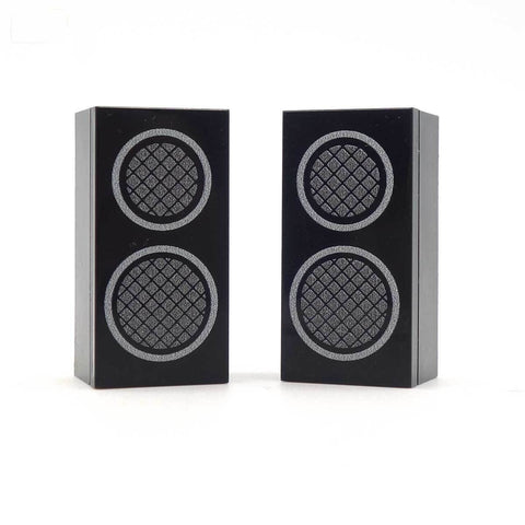 Massive Mini Speakers - Custom Designed Tiles on 2 x 4 LEGO bricks