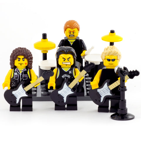 Metal Band - Custom Design Minifigure Set
