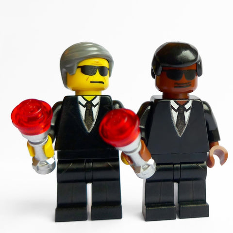 Agents in Black Custom Minifigures