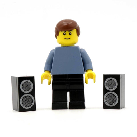 Mini Speakers Custom Designed LEGO Pieces