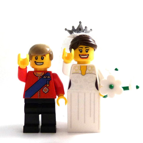 Kate and Will - Custom Design Minifigure Set