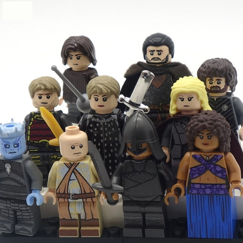 Ten Medieval Fantasy Minifigs of Your Choice, Game of Thrones - Custom LEGO Minifigures