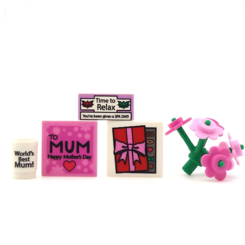 Ultimate Mother's Day Gift Pack - Custom Printed LEGO Pieces