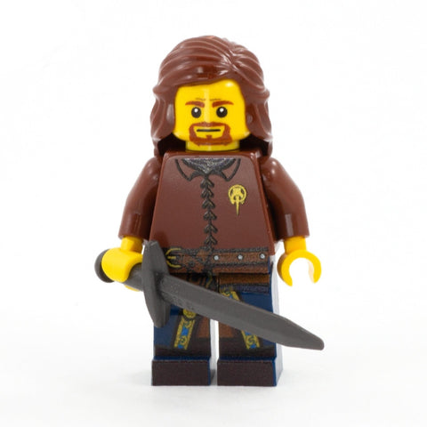 Ned Stark - Custom Design LEGO Minifigure, Game of thrones