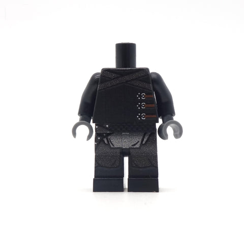 Night's Watch Outfit (No Head or Hair) - Custom Minifigure Torso and Legs