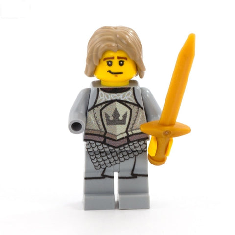 Medieval Fantasy, Jaime (King's Guard Armour) - Custom Design Minifigure