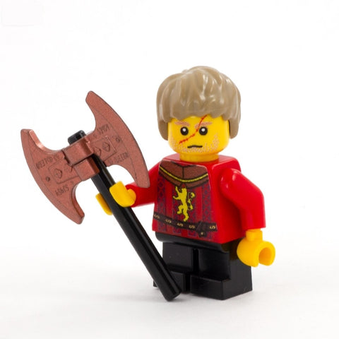 Medieval Fantasy, Tyrion in Lannister Armour - Custom Design Minifigure