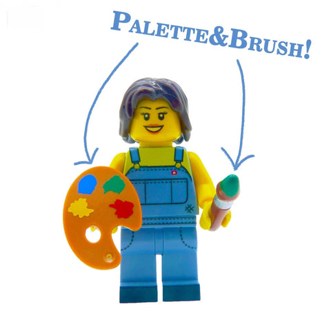 LEGO Pallette and Brush Set