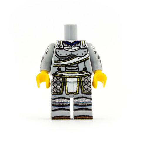 Paladin Outfit (Regular Legs, Various Colours, Customisable Cape) - Custom Design LEGO Minifigure Legs and Torso