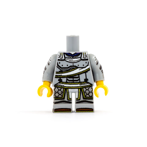 Paladin Outfit (Short Legs, Various Colours, Customisable Cape) - Custom Design LEGO Minifigure Legs and Torso