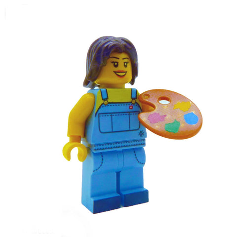 LEGO Pallette and Brush Set - Minifigure Accessory