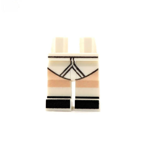 Underwear with Shoes and Socks - Custom Printed Minifigure Legs