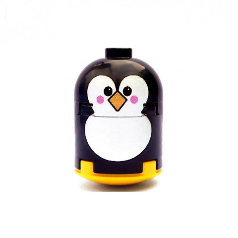 Penguin Custom Printed Brick Figure