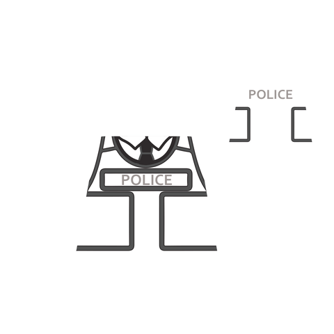 Police Armoured Jacket (Various Colours)  - Custom Designed LEGO Torso