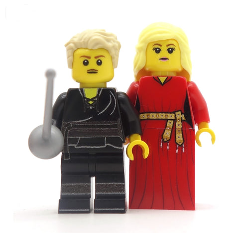 Dread Pirate and the Princess  - Custom Design Minifigures