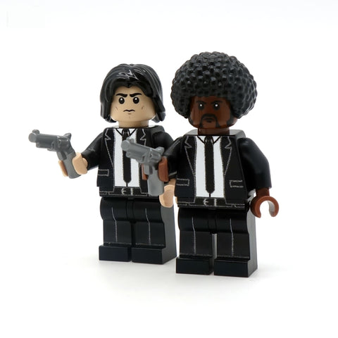 Vince and Jules - Custom LEGO Minifigures